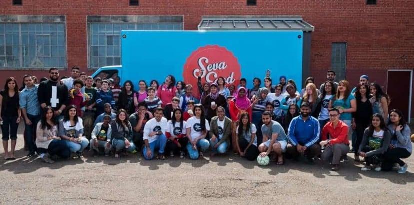 Seva Food Truck brings meals and mentorship