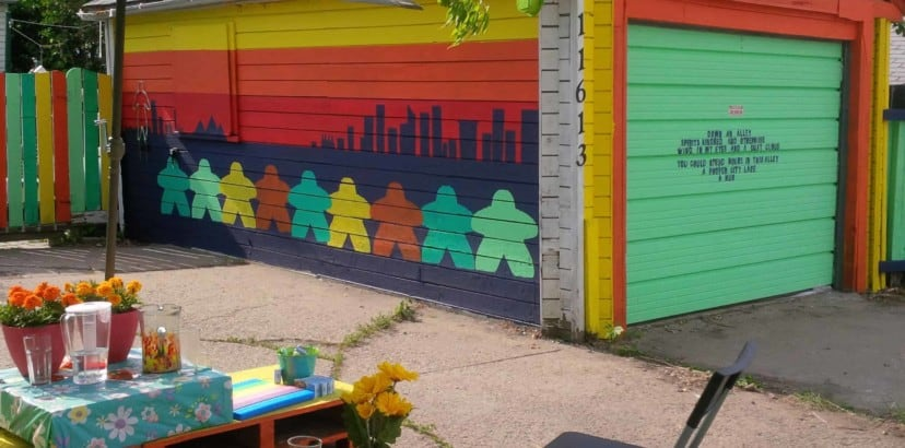 Beautifying communities and alleys