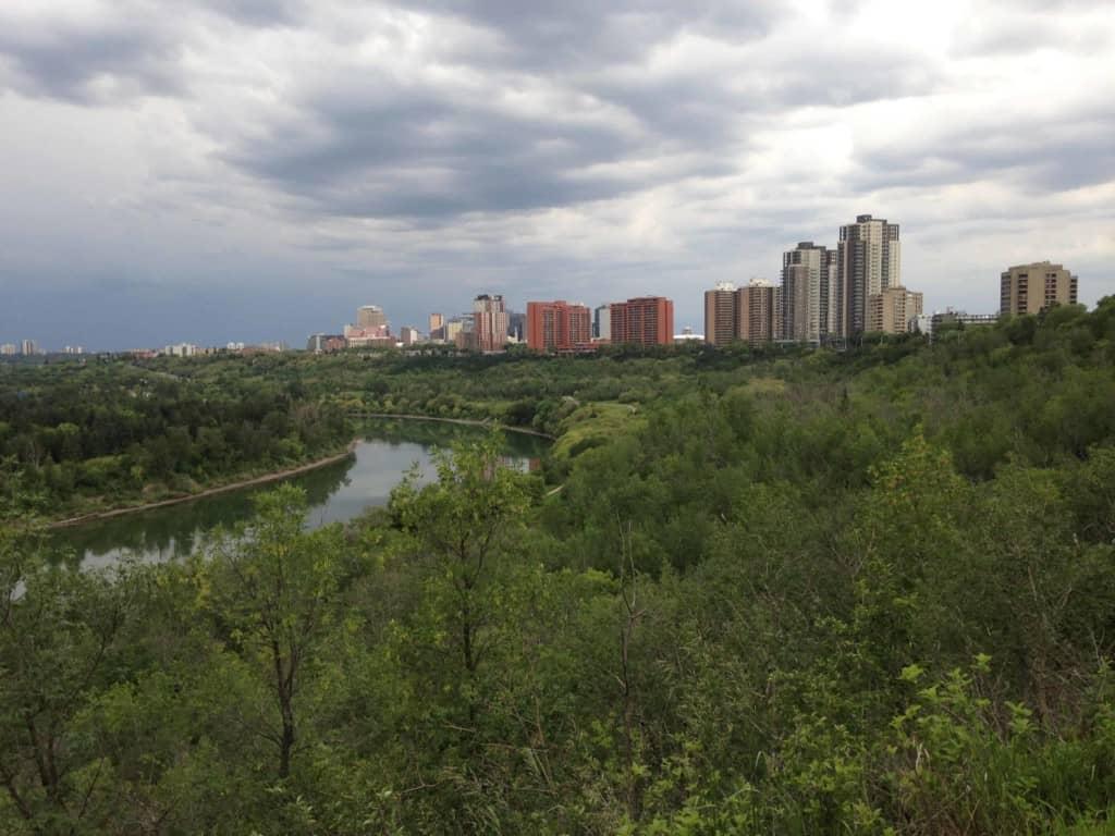 Kinnaird Park view