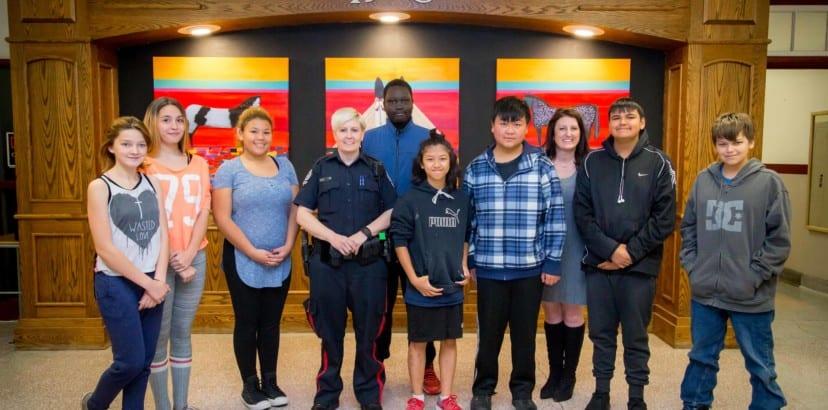 Bringing police presence to city schools