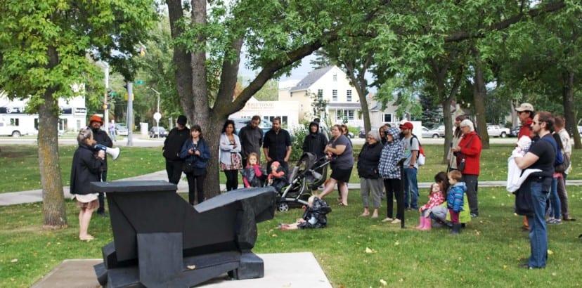 Eleven sculptures installed in Borden Park