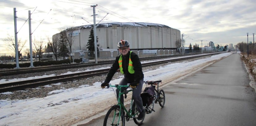 Local cyclists hit bike paths this winter