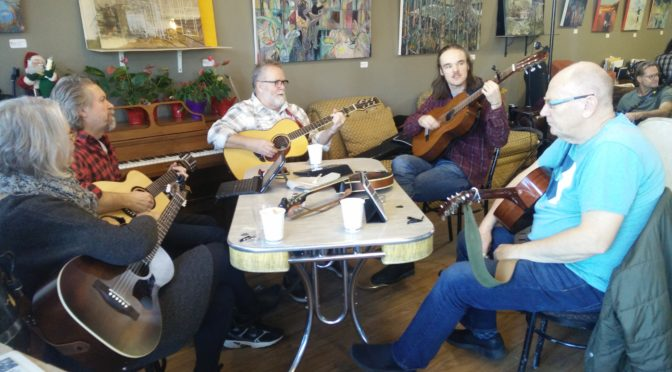 Food and folk music make a toasty combination
