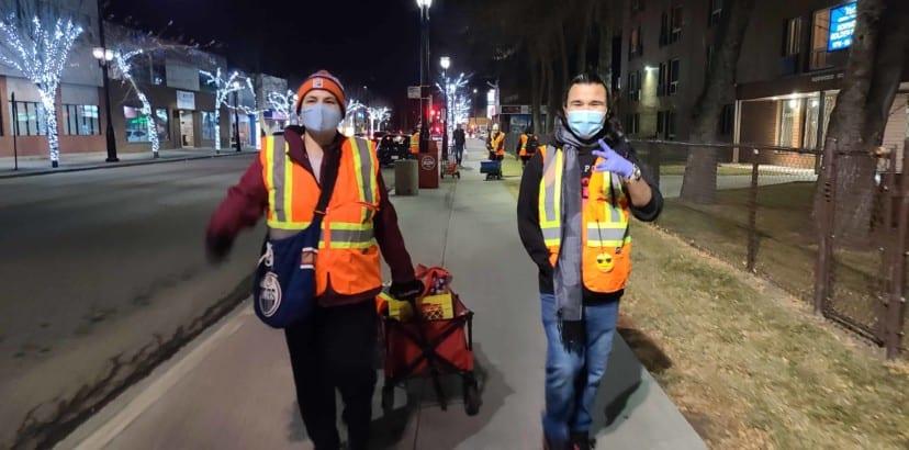 Bear Clan Patrol has arrived in Edmonton