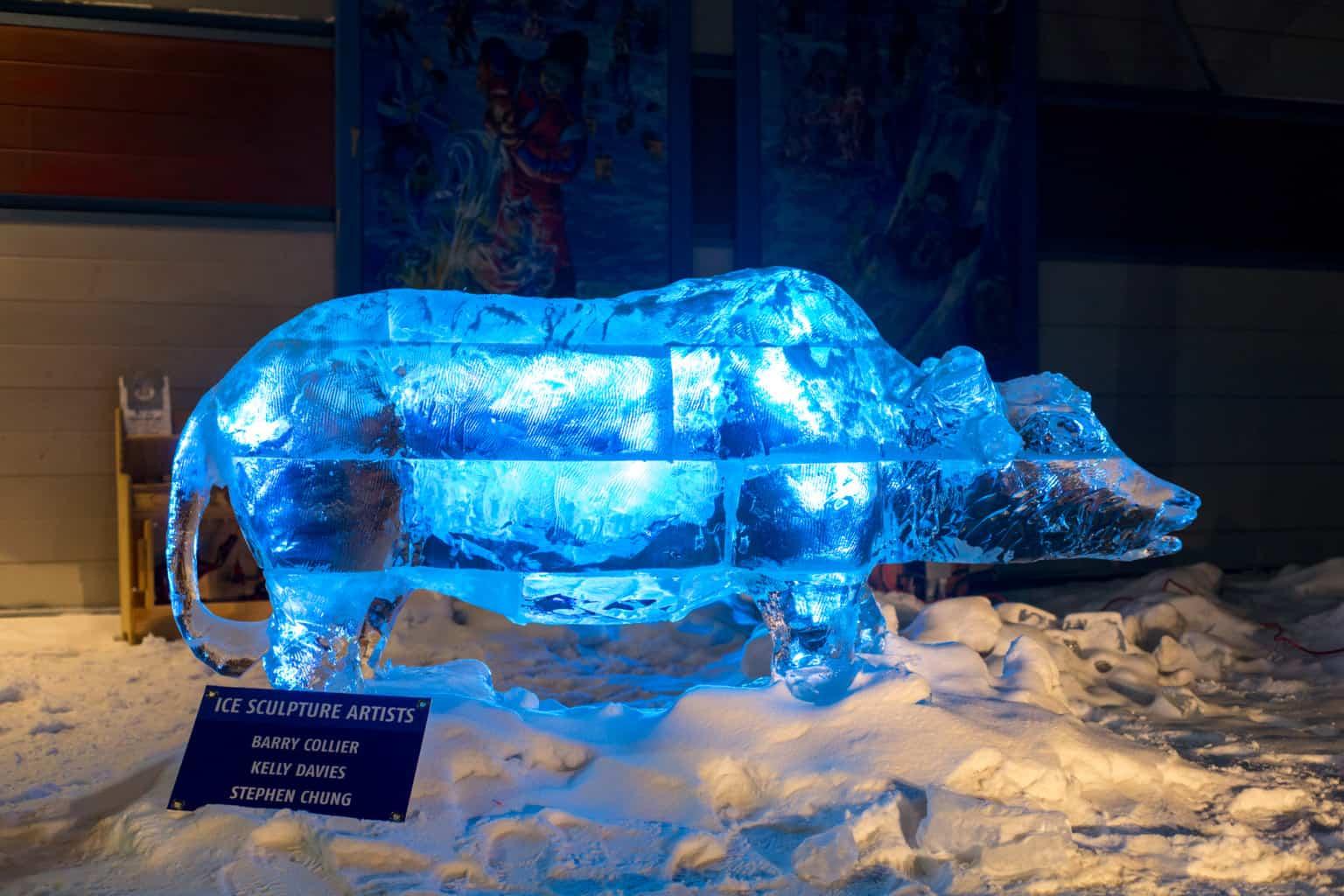 Check out the buffalo from the Vietnamese fable at Alberta Ave Community League. | Rebecca Lippiatt