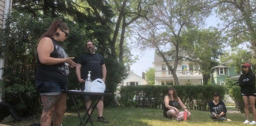 Local residents get Naloxone training